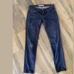 J brand skinny leg pure jeans size 26
